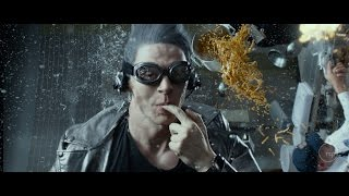 Evan Peters Quicksilver Scene In  X: Men Days Of Future Past (The Best Scene In The Movie) By