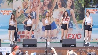 150802 경주캘리포니아비치 02 EXID-Whoz That Girl/직캠 (Fancam) (Horizontal)
