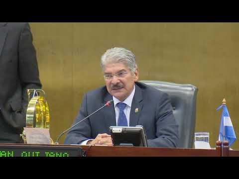 Presidente de Asamblea, Norman Quijano anuncio incremento de 3.3% de presupuesto para 2020
