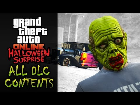 GTA Online Halloween Surprise [All DLC Contents]