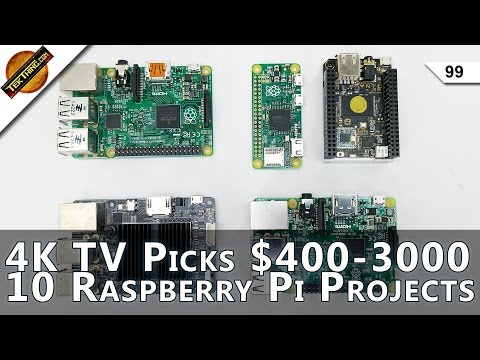 Black Friday Picks! 4K TVs $400-3000, 9 Raspberry Pi Gift Projects, $500 Laptop, Find Deals!