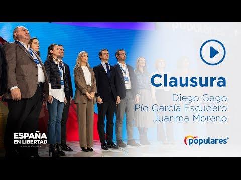 Clausura de la Convención Nacional de Madrid 2019
