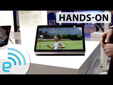 Sony VAIO Fit Multi-Flip PC hands-on | Engadget at IFA 2013