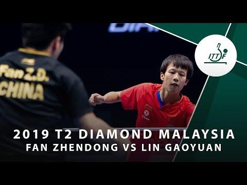 Fan Zhendong vs Lin Gaoyuan | T2 Diamond Malaysia (QF)