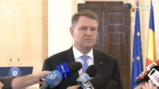 Iohannis, despre ce o recomandă pe Dăncilă pentru Guvern: Majoritatea parlamentară