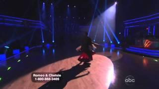 Dancing with the Stars : Romeo and Chelsie Hightower tango