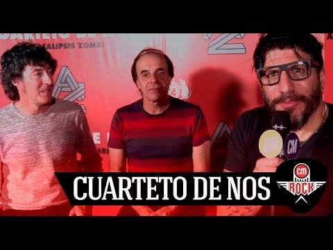 El Cuarteto de Nos video Apocalipsis Zombie - Entrevista - Mayo | 2017