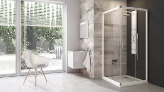 Kabina prysznicowa Blix BLRV2 - RAVAK (film montażowy)