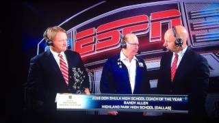 Coach Randy Allen named NFL High School Coach of the Year