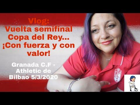 Vlog: Así vivimos la vuelta de la semifinal de la Copa del Rey en Granada - YouTube