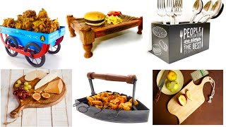 Amazon New Very Stylish Serving Trays/Platters/Serving Bowl Sets/Trays/boards/Crocery/AMAZON CROCERY