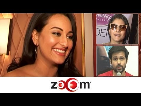 Sonakshi talks about her role in 'Son Of Sardar', Kajol plays it safe, & more news