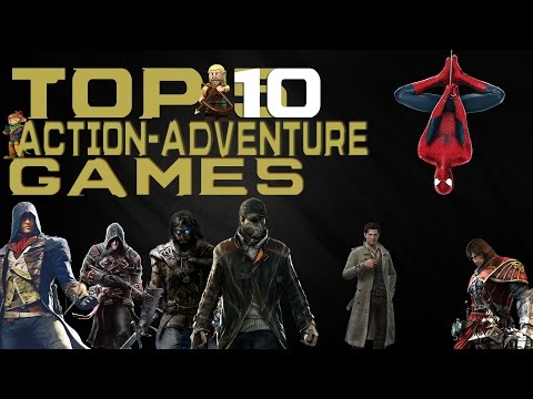 Top 10 - Best Action-Adventure Games of 2014 [HD]