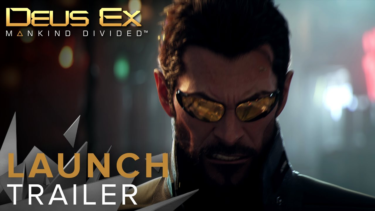 Video Deus Ex: Mankind Divided - Day One Edition [PS4]