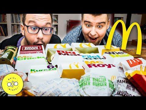 Spróbowaliśmy WSZYSTKIEGO z McDonald's