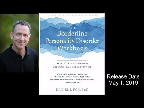 Borderline Personality Disorder Workbook Release