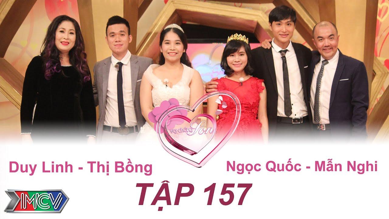 Duy Linh - Thị Bồng   Ngọc Quốc - Mẫn Nghi   VỢ CHỒNG SON - Tập 157   14/08/2016