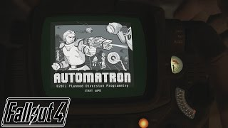 FALLOUT 4: How To Acquire The Automatron Holotape Game! (Automatron DLC Guide)