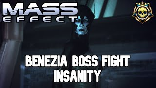 Mass Effect - Noveria Benezia Boss - Insanity