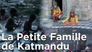 La Petite Famille de Katmandu Népal Le Village Michel Pellé Swayambu Family