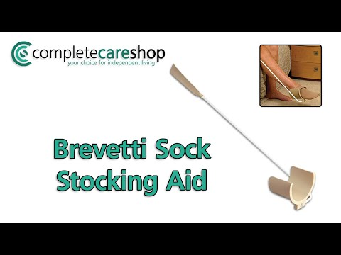Brevetti Stocking and Sock Aid - Quick And Easy