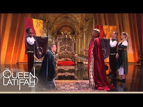 Cary Elwes Gets Knighted by a QUEEN! | The Queen Latifah Show