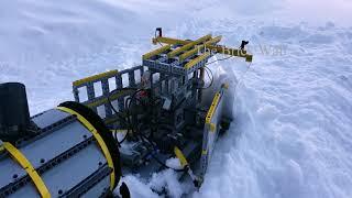 Snow Plow Train - Lego Technic
