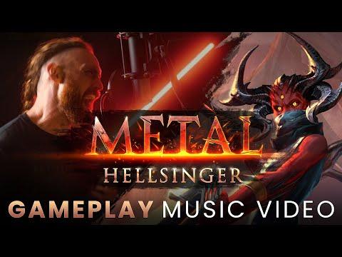Gameplay Music Video de Metal: Hellsinger
