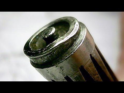 Ремонт масляного насоса плунжерного типа на бензопиле.