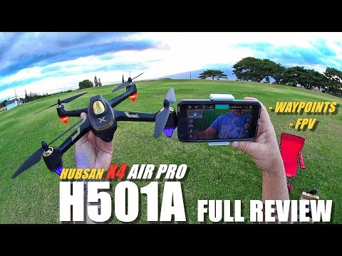HUBSAN H501A X4 AIR PRO Waypoints FPV Drone - Full Review - [Unboxing, Flight Test, Pros & Cons👌]