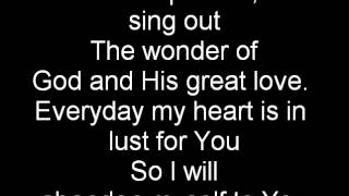Jesus Culture -I am in Love with you with lyrics (10)