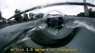 preview picture of video 'xkcd geohashing 2013-07-23 48 12: Geohasher in a bottle'