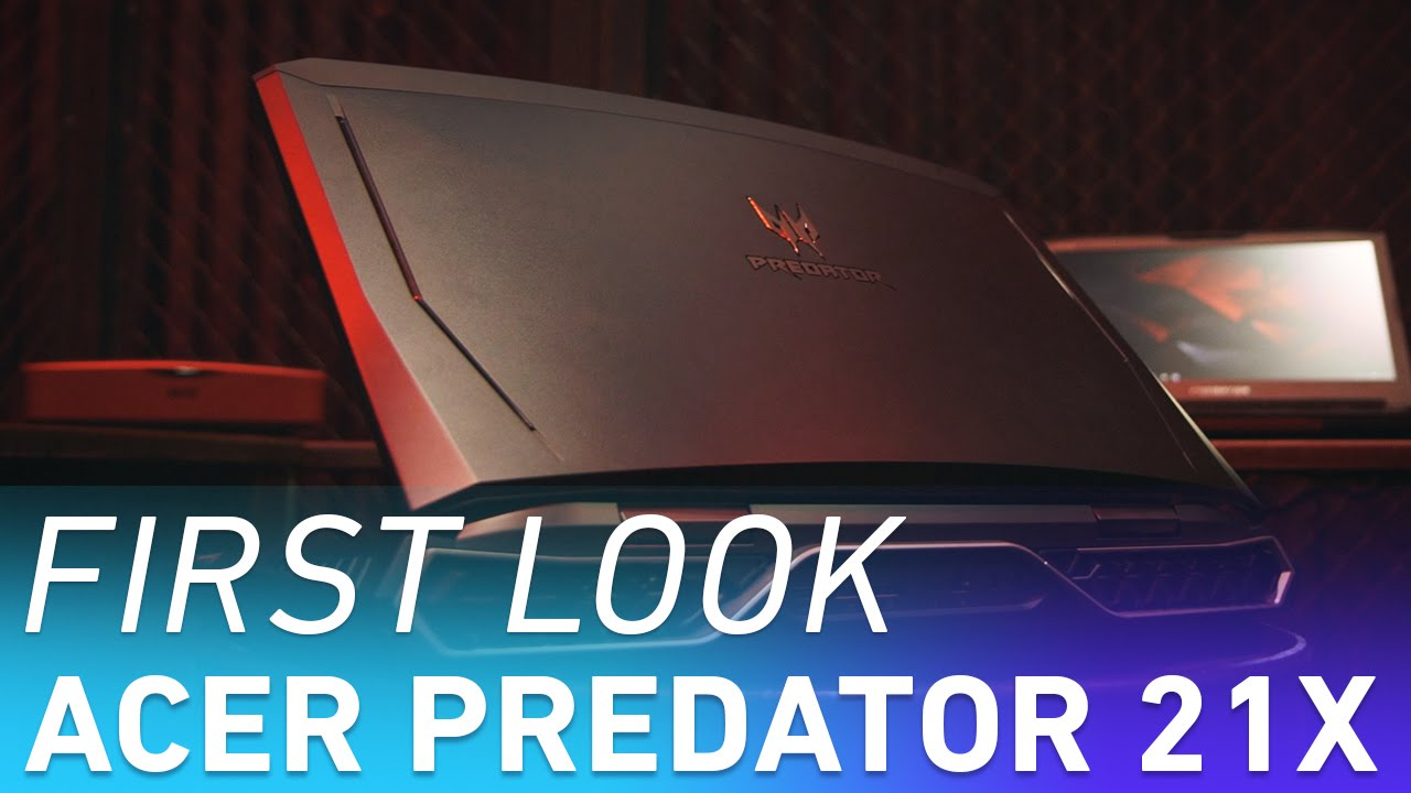 Acer Predator 21 X: the first curved-screen laptop thumbnail