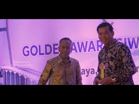 Wali Kota Pekanbaru Raih Penghargaan Golden Award