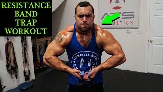 Intense 5 Minute Resistance Band Trap Workout by Anabolic Aliens