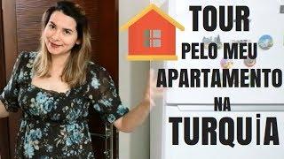 TOUR PELO MEU APARTAMENTO NA TURQUİA - Mayara e Serkan na Turquia