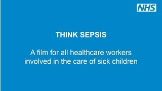 Healthcare workers encouraged to 'Think Sepsis'