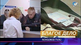 Сотрудники ГИБДД сдали кровь, чтобы помочь пострадавшему 8 лет назад в ДТП Владу Соловьеву