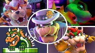 Evolution of Bowser Battles in Mario Games (1985 - 2018)