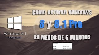 como activar windows 8.1 pro build 9600