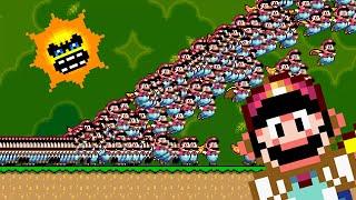 Super Mario World But With 1,000 Marios
