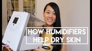 How Humidifiers Help Dry Skin