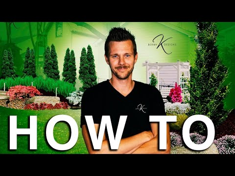 , title : 'How to Landscape Design LIKE A BOSS! // Bobby K Designs