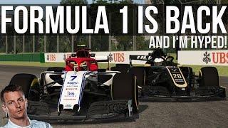 Driving Kimi Raikkonen's BEAUTIFUL Alfa Romeo Formula 1 Car