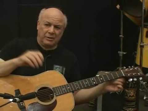 Beginning guitar - Companion Chords - Martin acoustic guitar - Guitar lesson 3