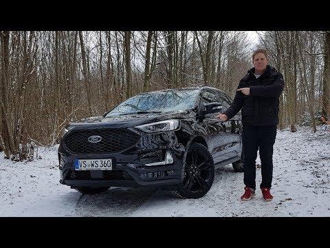 2019 Ford Edge ST-Line Facelift - Review, Test, Fahrbericht