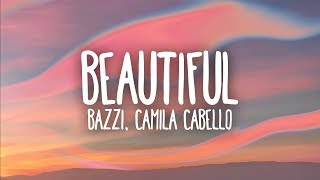 Gambar cover Bazzi, Camila Cabello - Beautiful (Lyrics)