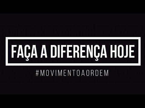 Faça a diferença hoje! #MovimentoAORDEM + Sorteio | Nohane Carvalho