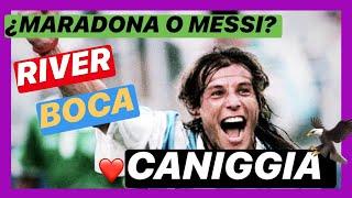 Claudio CANIGGIA ⚡️TE CUENTA TODO⚡️ River, Boca, Maradona, Messi | Perfil Bulos