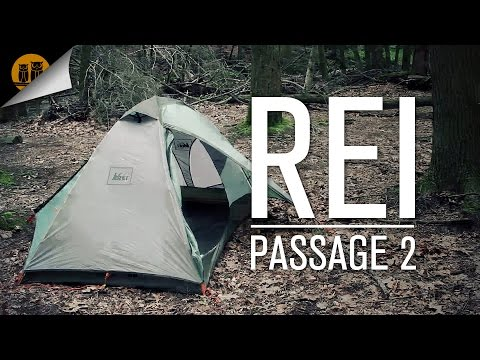 REI Passage • 2 Person – 3 Season Tent • Field Review & Setup